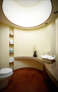 Резиденция Chenequa с плавными линиями и интенсивным использованием органических материалов.