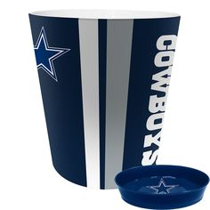 d19418332 Dallas Cowboys NFL Waste Basket with Soap Dish Dallas Cowboys Outfits