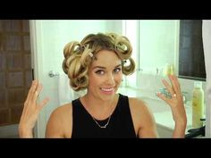 Watch the whole tutorial here! | Here's How Lauren Conrad Gets Her Perfect Waves