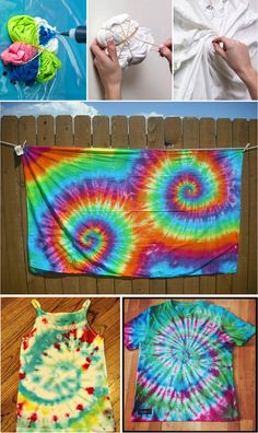 How to Tie Dye Clothes