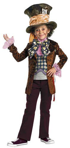 Deluxe Mad Hatter Kids Costume - Alice In Wonderland Costumes