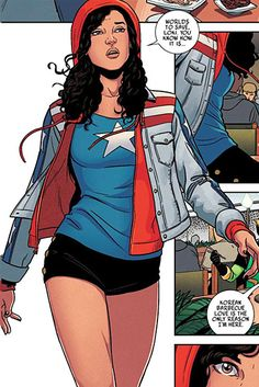 Comic Book Cosplay We Love: Miss America From Young Avengers Dresses Like A Real Person | MTV Style