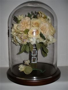 Dried Flowers. Dry your wedding bouquet! suspendedintime.com.