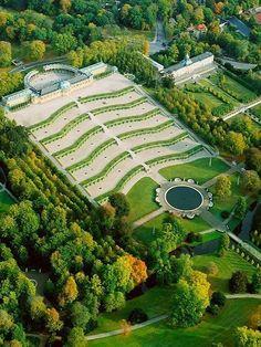 Sanssouci Castle, Potsdam near Berlin, Germany Beautiful Castles, Beautiful Gardens, Beautiful Places, Potsdam Germany, Berlin Germany, Frederick The Great, Germany Castles, Parks, Germany Travel