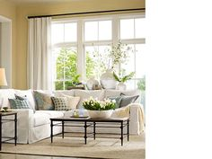 Room Decorating Ideas, Room Décor Ideas & Room Gallery | Pottery Barn PAINT COLORS WE LIKE