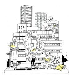 Building - Handsome Frank Illustration Agency