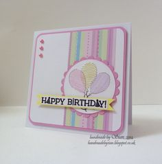 A first birthday card for a special little girl!...