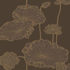 Cole & Son - Frontier - Water Lily - 89-5022