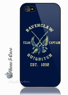 Harry Potter Quidditch Ravenclaw iPhone 5 Case - definitly hope to get this when i finally buy my new ipod touch!