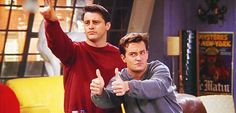 And when they disapproved in unison, as seen here: | 25 Moments When Joey And Chandler Won At Friendship