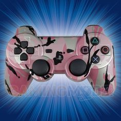 Pink Camouflage Playstation 3 Modded Controller  is a perfect gift for a special gamer in your life! All of GamingModz.com PS3 modded controllers are compatible with every major game on the market today. If you decide to get one of our Xbox 360 or Playstation 3 modded controllers, your gaming experience will increase, overall performance will rise and it will allow you to compete against more experienced players.