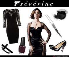Severine Skyfall Style Guide James Bond Fancy Dress Party