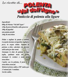 Pasticcio di polenta alla ligure.