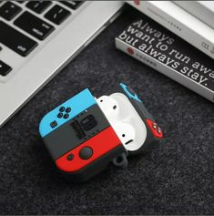 Nintendo Switch AirPod Case To Stylishly And Safely Tote Your Pods Cute Ipod Cases, Girly Phone Cases, Iphone Cases, Iphone 11, Crazy Funny Videos, Earphone Case, Air Pods, Airpod Case, Game Controller
