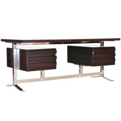 Executive Desk by Gianni Moscatelli for FORMANOVA, 1969  (1st Dibs have mis-named it)