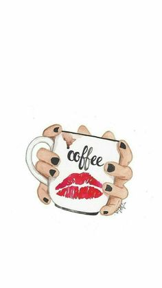coffee wallpaper I wonder if coffee loves me like I love coffee Happy Coffee, Coffee Is Life, I Love Coffee, White Coffee, Cute Wallpapers, Wallpaper Backgrounds, Iphone Wallpaper, Coffee Wallpapers, Wallpaper Quotes