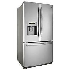 Kenmore 25 cu. ft. French Door Bottom-Freezer Refrigerator - Stainless Steel 2