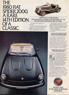 1980 Fiat Spider