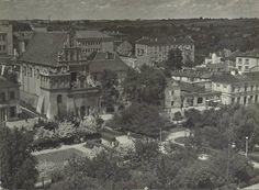 ul. Świętoduska źródło; uranium My Kind Of Town, Beautiful Buildings, Poland, Paris Skyline, Black And White, City, Travel, Photos, Historia