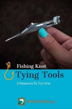 Tie better, stronger, faster knots using fishing knot tying tools. Here are five benefits of using a knot tying tool and ultimately improving your fishing knots. Fishing Hook Knots, Fishing Pole Holder, Bass Fishing Tips, Fishing Tools, Fishing Line, Best Fishing, Fishing Equipment, Kayak Fishing, Fly Tying Tools