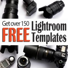 Free Lightroom Templates to make COLLAGES in Lightroom!  No more Photoshop!