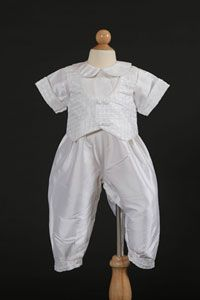 Flower Boys Dresses - Boys Baptism and Christening Outfit Set Style I357C