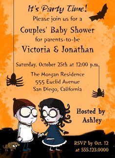 Cute And Fun Halloween Themed Baby Shower Ideas