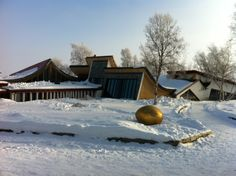 Juhls Silver Gallery in Kautokeino, Norwegian Lappland. A beautiful place in a desert of snow