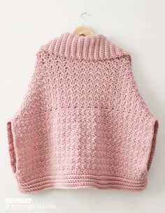 Origami Crochet Cardigan - Patterns   Yarnspirations
