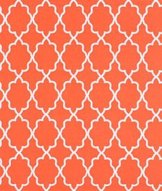 Michael Miller Moroccan Lattice Orange Fabric - $6.9 | onlinefabricstore.net