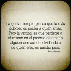 #amar demasiado Spanish Quotes, Tattoo Quotes, Photo And Video, Words, Madness, Live, Truths, World, Loving Someone