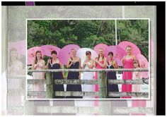 WOW what a beautiful spectacle! Thank you to the bride, Leonie, for sharing this lovely shot of herself and all her bridesmaids. It was a pleasure to dress her and all her gorgeous girls. She had a vision when she came to visit BRIDAL and BALL and together we made it happen. I love all the colour! All these dresses available from BRIDAL and BALL Albany Village
