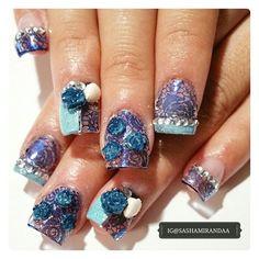 ● Encapsulated Blue Dream ●  Hope you enjoyed your nails you little mermaid ☆ @cynthiabonita89  #nailart #nailart2015 #nailartdesign #acrylicnails #3dnailart #acrylicfullset #encapsulatednailart #nailextension #manicure #mani #manicuredesign #nailstamping #nailartstamping #nailartaddict #nailaddition #pueen #pueencosmetics #kleancolor #miasecret #uvgelnails #nailtechnician #nailstylist #naildesigner #nailartist #naillacquer #polish #nailporn #like4like #unas #unasdecoradas