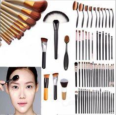 Jogo De Pincéis De Maquiagem Kabuki pó base sombra delineador Pincéis Cosméticos | Saúde e beleza, Maquiagem, Instrumentos e acessórios de maquiagem | eBay!