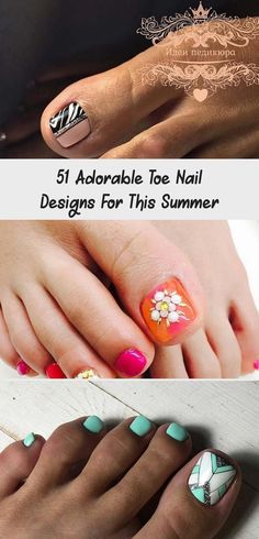 Watermelon Toe Nail Design for Summer Neon Pink Nails, Striped Nails, Orange Nails, Glam Nails, Toe Nails, Watermelon Nails, Pearl Nails, Nail Tape, Nail Jewelry