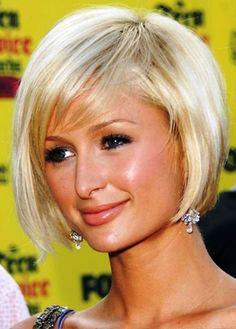 Cute Short Bob Haircut   Behairstyles.com