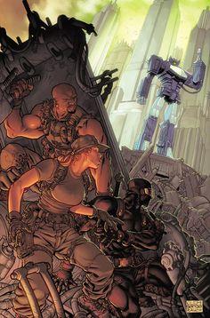 GI Joe vs. Transformers cover by JohnRauch.deviantart.com on @deviantART