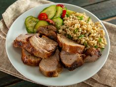 You might think that sticking meat in the air fryer would dry it out, but this Air Fryer Marinated Pork Tenderloin proves just the opposite. The results are nothing short of perfect. The sweet, … Healthy Pork Tenderloin Recipes, Pork Tenderloin Marinade, Slow Cooker Pork Tenderloin, Marinated Pork Tenderloins, Pork Recipes, Cooking Recipes, Pork Roast, Ninja Recipes, Weekly Recipes