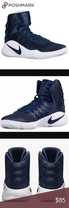separation shoes 4a605 0a24e •Nike Hyperdunk 2016 TB Shoes• NWT Midnight Navy and white Nike Hyperdunk  2016 TB. Basketball ...