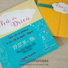 Muito amor por esse #convite personalizado para #chadepanela e #chadelingerie 😍 😍 #casamento #savethedate #noivado #instanoivas #instawedding #love #chabar #bridalshower #convite #convitedecasamento #invite #nandamoraesdesign