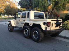 Resultado de imagem para Jeep Wrangler 6x6