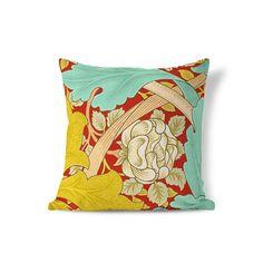 William Morris Pillow  Victorian Pillow  Floral Pillow Sham