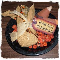 Fabric Corn Cob - Harvet Blessings