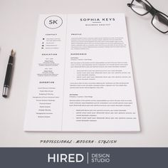 Home - Hired Design Studio Cover Letter Design, Cover Letter Template, Cv Template, Letter Templates, Resume Templates, Letter Designs, Resume Layout, Resume Writing, Text Icons