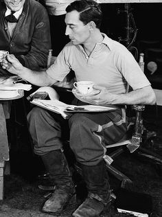 Buster Keaton on the set of Spite Marriage (1929)