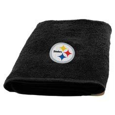 e2238921705 Steelers 25×50 Applique Bath Towel 1 Nfl Steelers