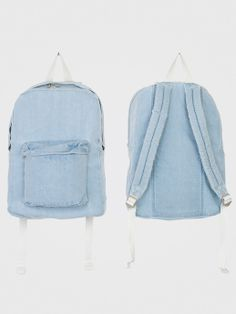 American Apparel - Denim School Bag. Vintage  back back to mix with newer more fashion forward pieces