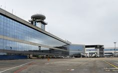 """Aeroporto Internacional Domodedovo"". Domodedovo, Rússia."
