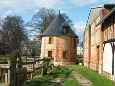 Dovecote 18th Century. Private Entrance.  3 levels.  Kitchen etc. farm normandy france.   15 mins from Rouen for tours to Giverny Monet Garden.  $475 AUD