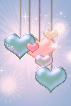 cfb293c8a80f1a3bdcd9069fd9bd6faa--hanging-hearts-heart-to-heart